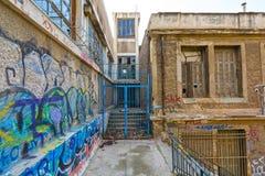 Centro urbano Fotos de archivo libres de regalías