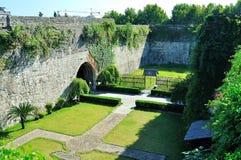 Centro urbano del castillo de la puerta de Zhonghua Imagen de archivo libre de regalías