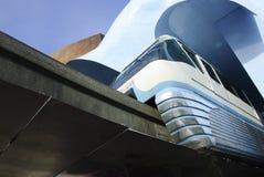 Centro urbano della monorotaia di Seattle @ Fotografie Stock Libere da Diritti