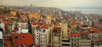 Centro urbano della Turchia Costantinopoli Fotografie Stock Libere da Diritti