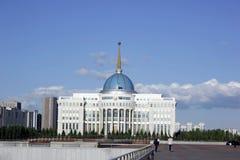 Centro urbano di Ak Orda Astana il Kazakistan fotografia stock