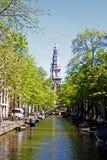Centro urbano di Amsterdam Fotografie Stock