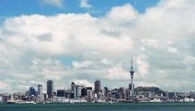 Centro urbano di Auckland, Nuova Zelanda Fotografie Stock Libere da Diritti