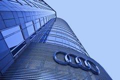 Centro urbano di Audi esteriore a penombra, Pechino, Cina Immagini Stock