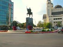 Centro urbano di Bacau Immagini Stock