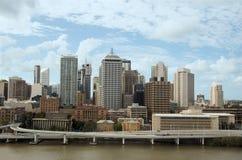 Centro urbano di Brisbane   Fotografie Stock