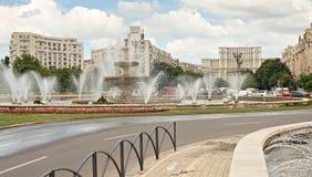 Centro urbano di Bucarest Fotografia Stock