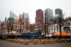 Centro urbano di Den Haag fotografie stock