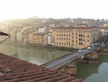 Centro urbano di Firenze Fotografie Stock
