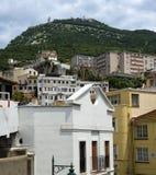 Centro urbano di Gibilterra Fotografia Stock Libera da Diritti