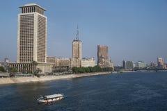 Centro urbano di Il Cairo Fotografia Stock