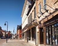 Centro urbano di Kingston immagine stock libera da diritti