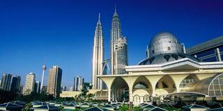 Centro urbano di Kuala Lumpur Fotografie Stock Libere da Diritti