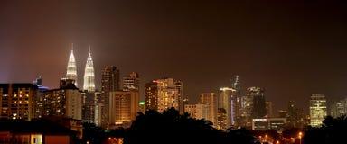Centro urbano di Kuala Lumpur Fotografia Stock