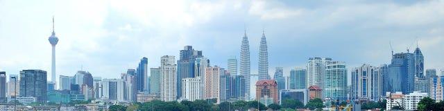 Centro urbano di Kuala Lumpur Fotografia Stock Libera da Diritti