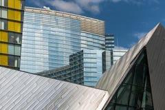 Centro urbano di Las Vegas Fotografia Stock