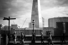 Centro urbano di Londra Fotografia Stock