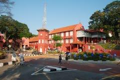 Centro urbano di Melaka immagini stock