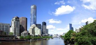 Centro urbano di Melbourne Immagini Stock