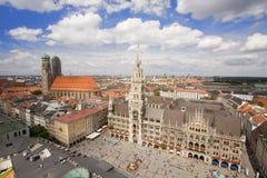 Centro urbano di Monaco di Baviera Immagine Stock