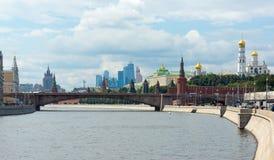 Centro urbano di Mosca immagini stock libere da diritti