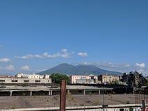 Centro urbano di Napoli fotografia stock libera da diritti