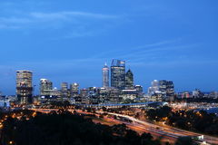 Centro urbano di Perth 1 Fotografia Stock