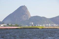 Centro urbano di Rio de Janeiro fotografie stock libere da diritti