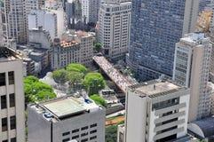 Centro urbano di Sao Paulo, Brasile Immagini Stock Libere da Diritti