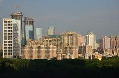 Centro urbano di Shenzhen Fotografia Stock