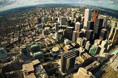 Centro urbano di Toronto Fotografia Stock