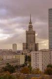 Centro urbano di Varsavia - Polonia Immagini Stock
