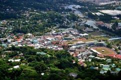 Centro urbano di Victoria Seychelles Immagini Stock