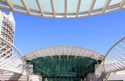 Centro Vasco da Gama in Lisboa, Portugal Stock Photo
