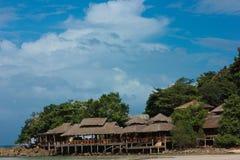 CENTROS TURÍSTICOS EN KOH-KOOD, TAILANDIA Imagenes de archivo