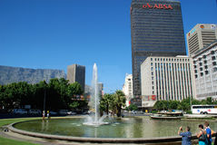 Centrum av Cape Town, Sydafrika Arkivbild