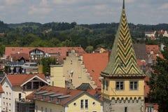 Centrum av den Lindeau Tyskland Arkivfoto