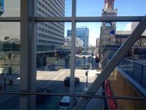 Centrum av den Winnipeg staden arkivfoton