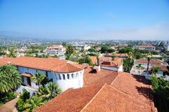 Centrum av Santa Barbara Arkivfoto
