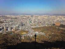 Centrum av Seoul Royaltyfri Fotografi