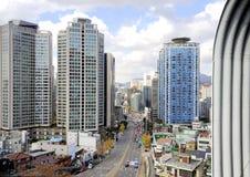 Centrum av Seoul Arkivfoto