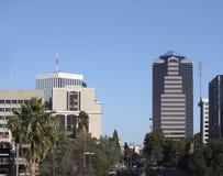 Centrum av Tucson, AZ Fotografering för Bildbyråer