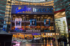 centrum berlina Sony Fotografia Stock