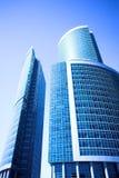 centrum biznesowe miasta nowych Moscow drapacze chmur obrazy stock
