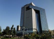 Centrum biznesu golden gate na entuzjasty autostradzie, Moskwa, Rosja zdjęcia royalty free
