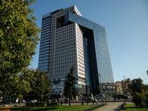 Centrum biznesu golden gate na entuzjasty autostradzie, Moskwa, Rosja obraz royalty free