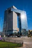 Centrum biznesu golden gate na entuzjasty autostradzie, Moskwa, Rosja zdjęcie stock