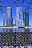 centrum biznesu miasto Moscow Obraz Royalty Free