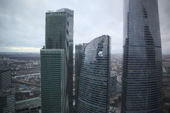 centrum biznesu miasto Moscow Obraz Stock