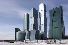 centrum biznesu miasto Moscow Zdjęcia Stock